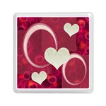 I Heart You pink Memory card reader - Memory Card Reader (Square)