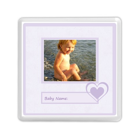 Baby By Joely   Memory Card Reader (square)   2sj8i6webmq8   Www Artscow Com Front