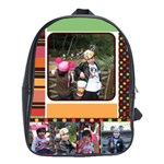 Colorful World Bag - School Bag (Large)