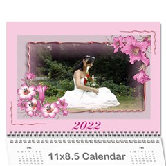 Framed With Flowers 2017 (any Year) Calendar By Deborah   Wall Calendar 11  X 8 5  (12 Months)   2zz7fgvp1nld   Www Artscow Com Cover