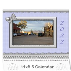 Elegant In Silver 2018 (any Year) Calendar By Deborah   Wall Calendar 11  X 8 5  (12 Months)   Fum18nvivevs   Www Artscow Com Cover