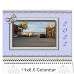Elegant in Silver 2017 (any Year) Calendar - Wall Calendar 11  x 8.5  (12-Months)