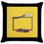 Throw Pillow- Hot Hot Hot - Throw Pillow Case (Black)