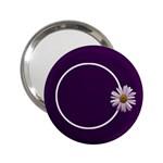Lavender Essentials Handbag Mirror 1 - 2.25  Handbag Mirror