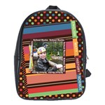 Colorful World Bag Large School Bag - School Bag (Large)