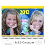 Calender (The Girls) - Wall Calendar 11  x 8.5  (12-Months)