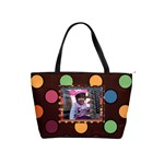 colorful world Shoulder Handbag dbl-frame - Classic Shoulder Handbag