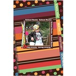 Colorful World Notebook - 5.5  x 8.5  Notebook
