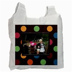Colorful World Recycle Bag By Blue Angel   Recycle Bag (two Side)   E5eu541afhmg   Www Artscow Com Front
