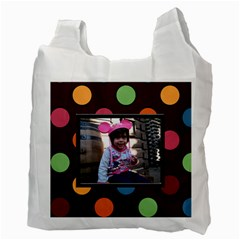 Colorful World Recycle Bag By Blue Angel   Recycle Bag (two Side)   E5eu541afhmg   Www Artscow Com Back