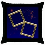 Midnight Star light - Throw Pillow Case (Black)
