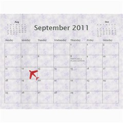 Deena And Yehudis By Renee   Wall Calendar 11  X 8 5  (12 Months)   Tr0e90hg6u0n   Www Artscow Com Sep 2011