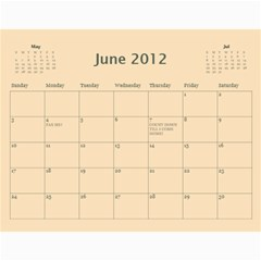 Deena And Yehudis By Renee   Wall Calendar 11  X 8 5  (12 Months)   Tr0e90hg6u0n   Www Artscow Com Jun 2012