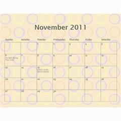 Deena And Yehudis By Renee   Wall Calendar 11  X 8 5  (12 Months)   Tr0e90hg6u0n   Www Artscow Com Nov 2011