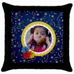 Throw Pillow Case- Magical Memories - Throw Pillow Case (Black)