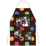Colorful World Apron large print - Full Print Apron