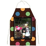 Colorful World Apron print - Full Print Apron