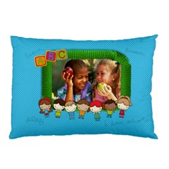 School Days/friends  Pillowcase (2sides) By Mikki   Pillow Case (two Sides)   T0kmm8j034nn   Www Artscow Com Front