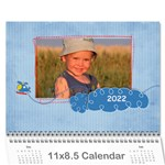 For the Boys/any theme-12 month 2013 calendar - Wall Calendar 11 x 8.5 (12-Months)