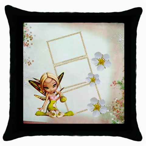 Summer Pillow Case By Elena Petrova   Throw Pillow Case (black)   Nfiea88yeltv   Www Artscow Com Front