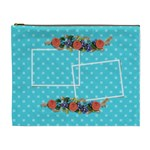 Cosmetic Bag (XL) -Flower Blooms 2