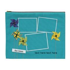 Cosmetic Bag (xl)   Pinwheels By Jennyl   Cosmetic Bag (xl)   Nsfn5theplib   Www Artscow Com Front