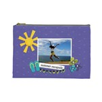Cosmetic Bag (Large)- Summer Escapade
