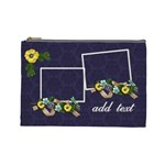 Cosmetic Bag (Large) - Burst of Flowers
