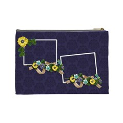 Cosmetic Bag (large)   Burst Of Flowers By Jennyl   Cosmetic Bag (large)   Yz61aziyxd77   Www Artscow Com Back