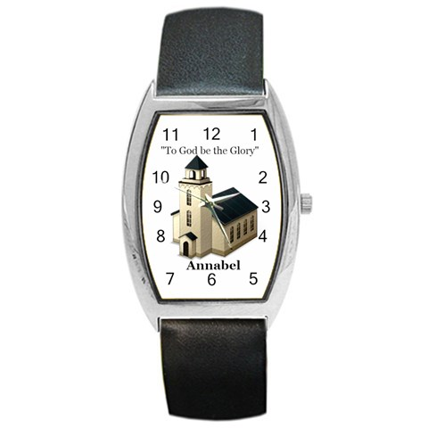 Watch For Phyllis By Jean Guy Demeter   Barrel Style Metal Watch   Wjvrbg7x2bqz   Www Artscow Com Front