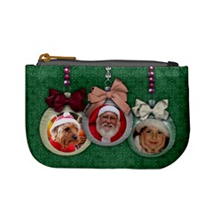 Christmas Ornament/gift Card Holder  Mini Coin Purse By Mikki   Mini Coin Purse   U1t3qnqc9yiy   Www Artscow Com Front