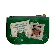 Christmas Ornament/gift Card Holder  Mini Coin Purse By Mikki   Mini Coin Purse   U1t3qnqc9yiy   Www Artscow Com Back