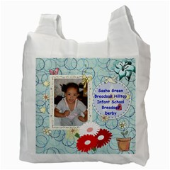 Gym Bag By Sally Kirkland   Recycle Bag (two Side)   7tn9a8dct8e7   Www Artscow Com Back