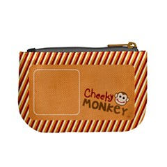 Cheecky Monkey Mini Coin Purse By Mikki   Mini Coin Purse   Vr9fyr522upr   Www Artscow Com Back