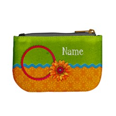 Girl 4/school Mini Coin Purse By Mikki   Mini Coin Purse   Djl0bwaohvsq   Www Artscow Com Back