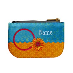Girl 5/school Mini Coin Purse By Mikki   Mini Coin Purse   Aunwishoyawx   Www Artscow Com Back