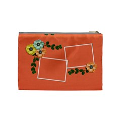 Cosmetic Bag (medium)  Flower Power By Jennyl   Cosmetic Bag (medium)   I7xxbnhaap51   Www Artscow Com Back