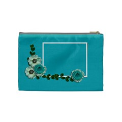 Cosmetic Bag (medium)  Blue Dreams By Jennyl   Cosmetic Bag (medium)   Z2wiel24ymhe   Www Artscow Com Back