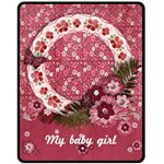 Wildbriar/Sweet Baby Girl-Fleece Blanket (M) - Fleece Blanket (Medium)