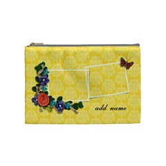 Cosmetic Bag (medium)   Butterfly Dreams By Jennyl   Cosmetic Bag (medium)   K82z69uobf6s   Www Artscow Com Front