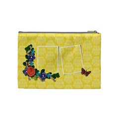 Cosmetic Bag (medium)   Butterfly Dreams By Jennyl   Cosmetic Bag (medium)   K82z69uobf6s   Www Artscow Com Back