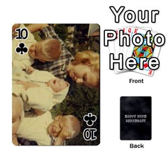Dad By Christina   Playing Cards 54 Designs   Shte2ft50zpz   Www Artscow Com Front - Club10