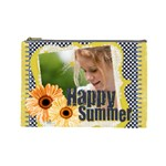 happy summer - Cosmetic Bag (Large)