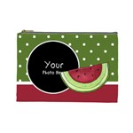 Watermelon Cosmetic bag large - Cosmetic Bag (Large)