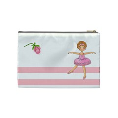 Ballerina Cosmetic bag medium by Lillyskite Back
