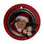 Christmas/Holiday-Ornament (Round, 1 side) - Ornament (Round)