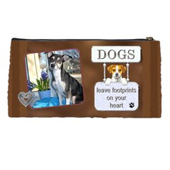 Crazy Dog Pencil Case By Lil    Pencil Case   4dh9t6mlgc0p   Www Artscow Com Back