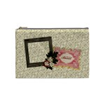 Count your blessings/holiday-Cosmetic Bag (M)  - Cosmetic Bag (Medium)