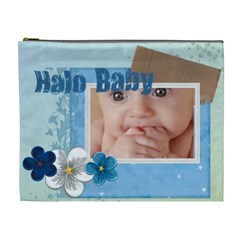 Halo Baby By Joely   Cosmetic Bag (xl)   V9zqzh7d9bsu   Www Artscow Com Front