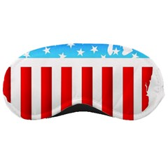 Usa Flag Map Sleep Eye Mask